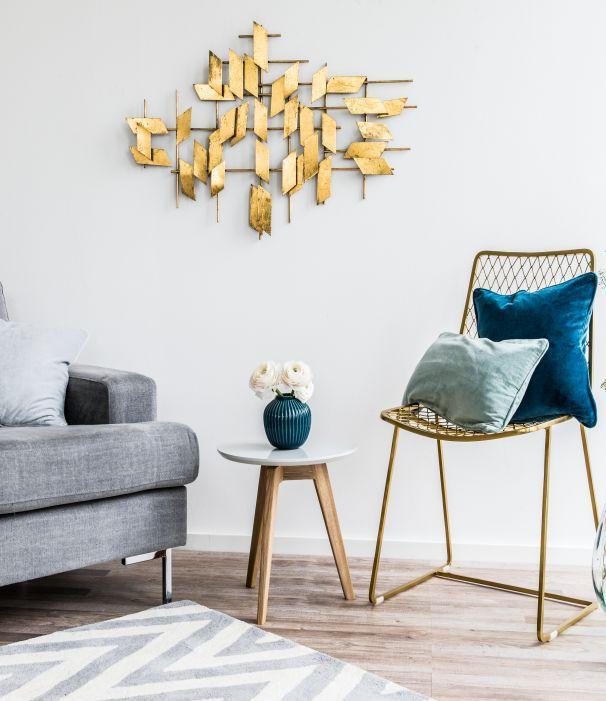 Wandgestaltung fürs Wohnzimmer