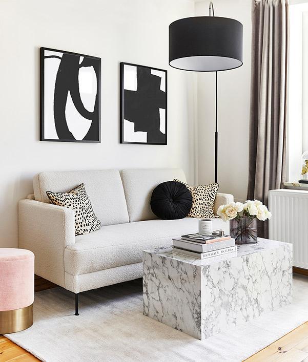 Minimalistische Einrichtung Interior Trend