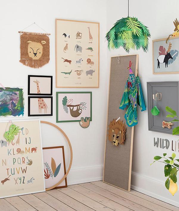 Wanddeko fürs Kinder- & Babyzimmer