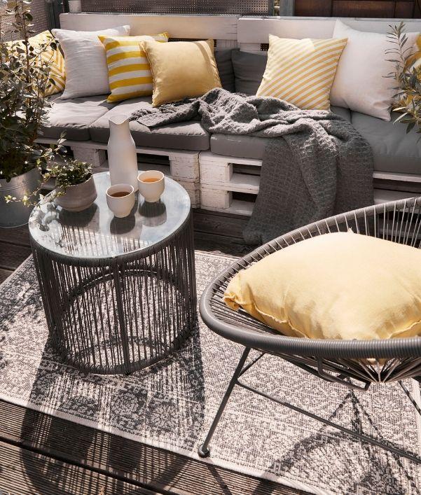 Balkon-Teppiche zum Verlieben