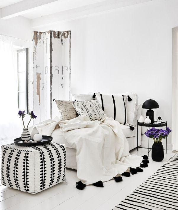 Cremefarben: Möbel & Deko in der Trendfarbe