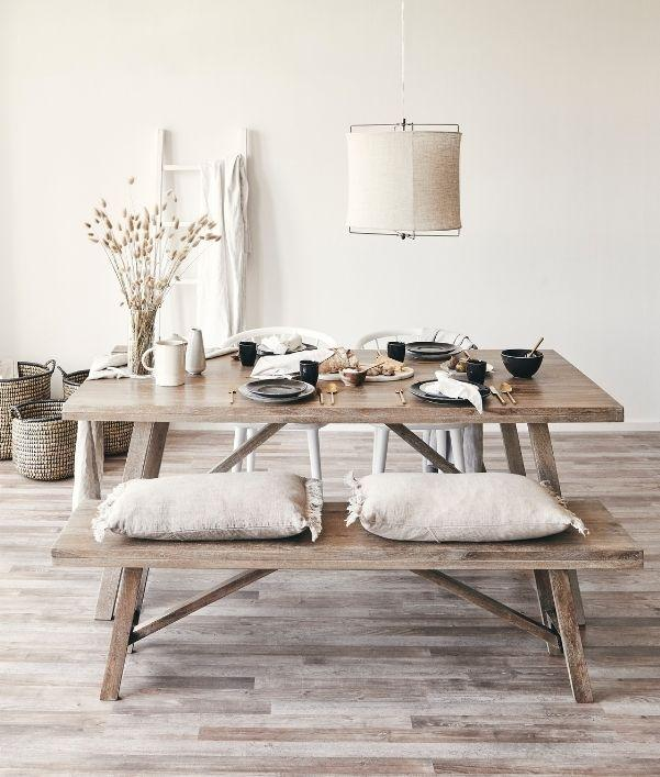 Beige: Deko & Möbel in der Trendfarbe