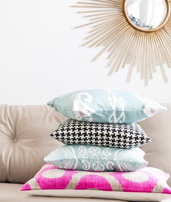 Kissen & Plaids in Sorbetfarben Interior Trend