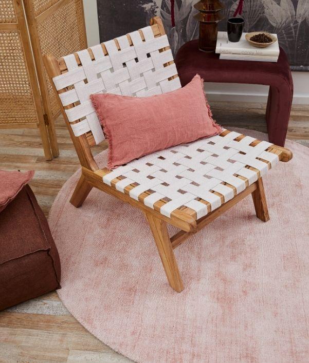 Teppiche in Rosa und Altrosa