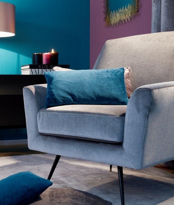 Samt-Möbel zum Verlieben