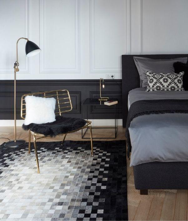 Stilvolle Teppiche fürs Schlafzimmer