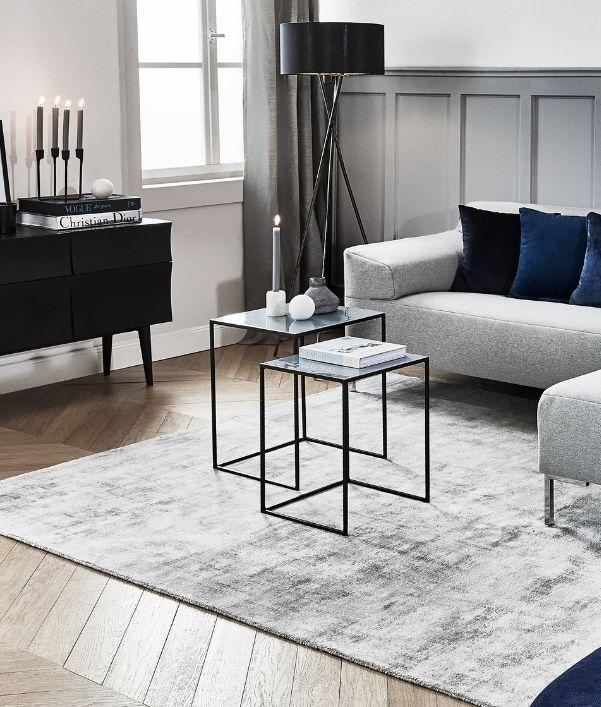Trendige Teppiche fürs Wohnzimmer