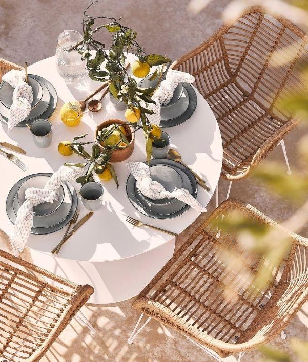 Tischdeko für den Frühling