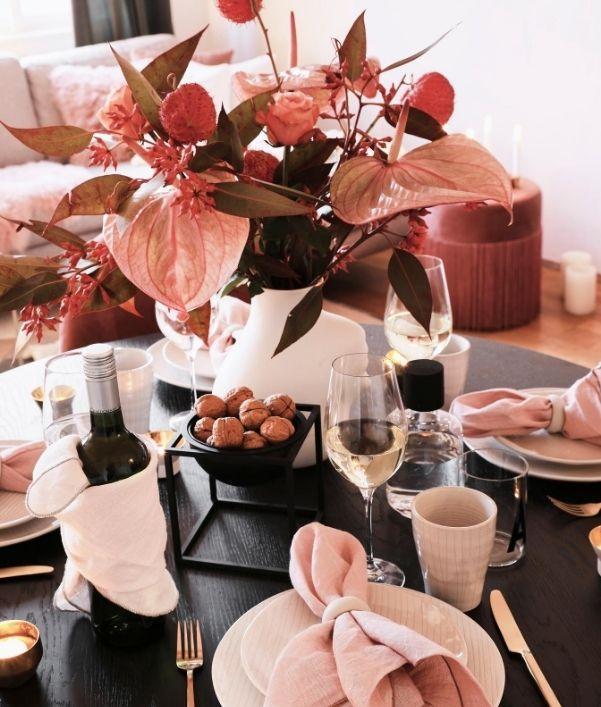 Tischdeko für den Herbst