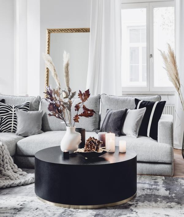 Tischdeko fürs Wohnzimmer