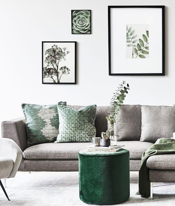 Grau Grün: Ein toller Farbmix für Ihre Einrichtung