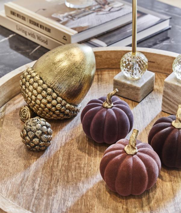 Herbstfarben: Möbel & Deko in herbstlichen Tönen
