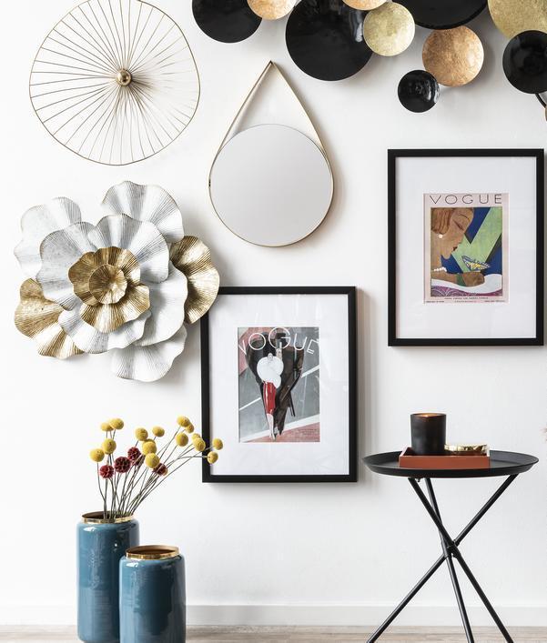 Exklusive Wanddeko fürs Wohnzimmer