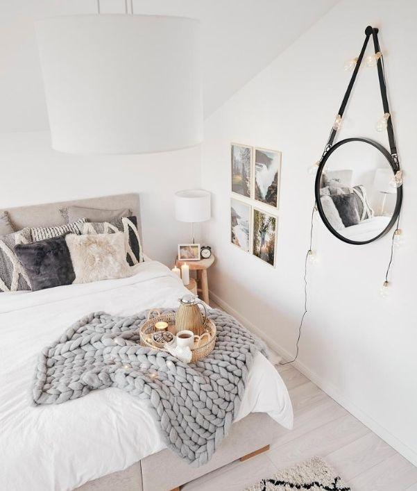 Wandgestaltung fürs Schlafzimmer