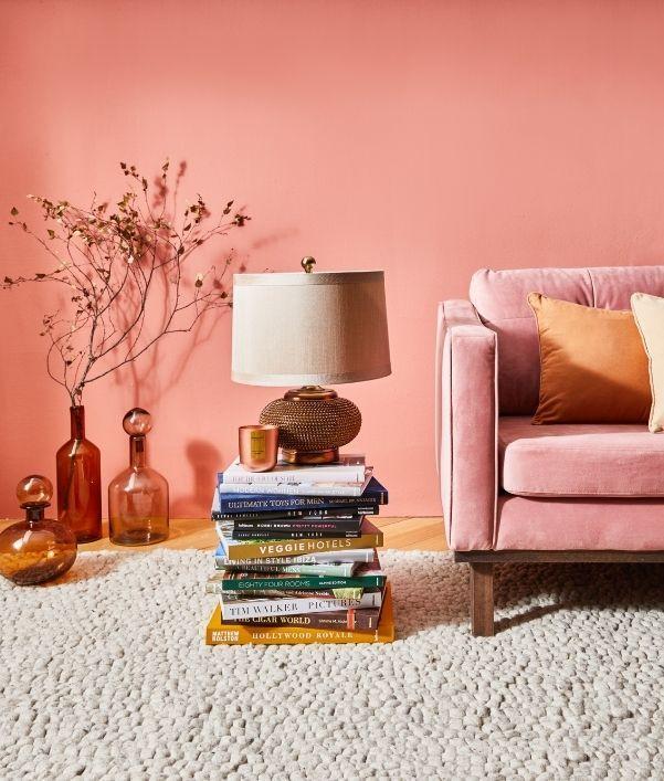 Warme Farben: Schicke Einrichtung zum Wohlfühlen