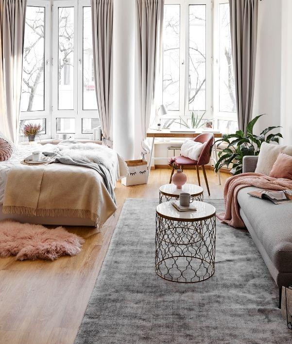 Wohn-Schlafzimmer: Wohnen & Schlafen kombinieren
