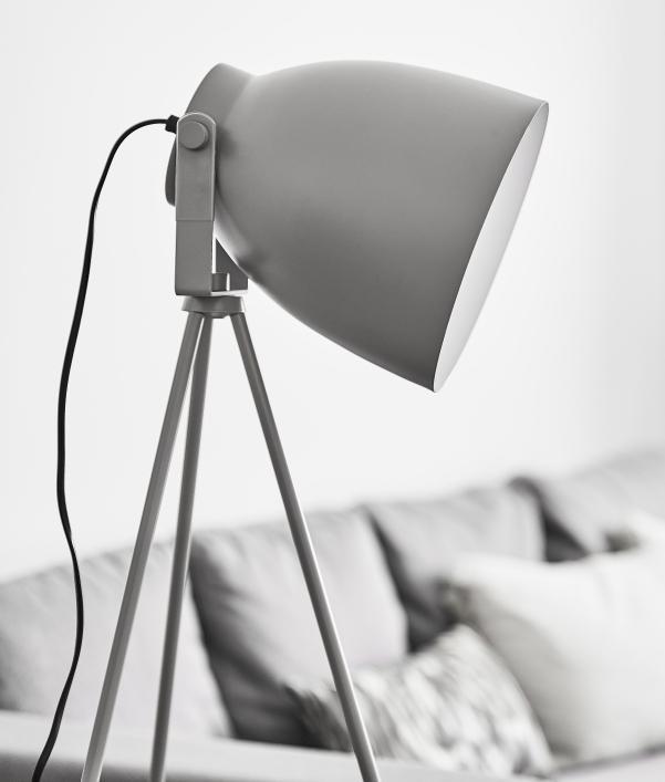 Stylische Beleuchtung fürs Wohnzimmer