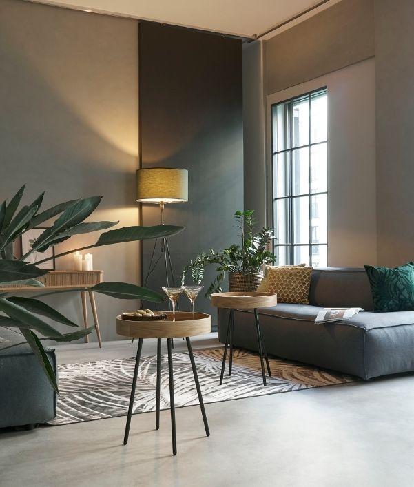 Wohnzimmer im Industrial-Style
