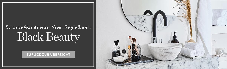 Badezimmer Trend Modern Schwarz