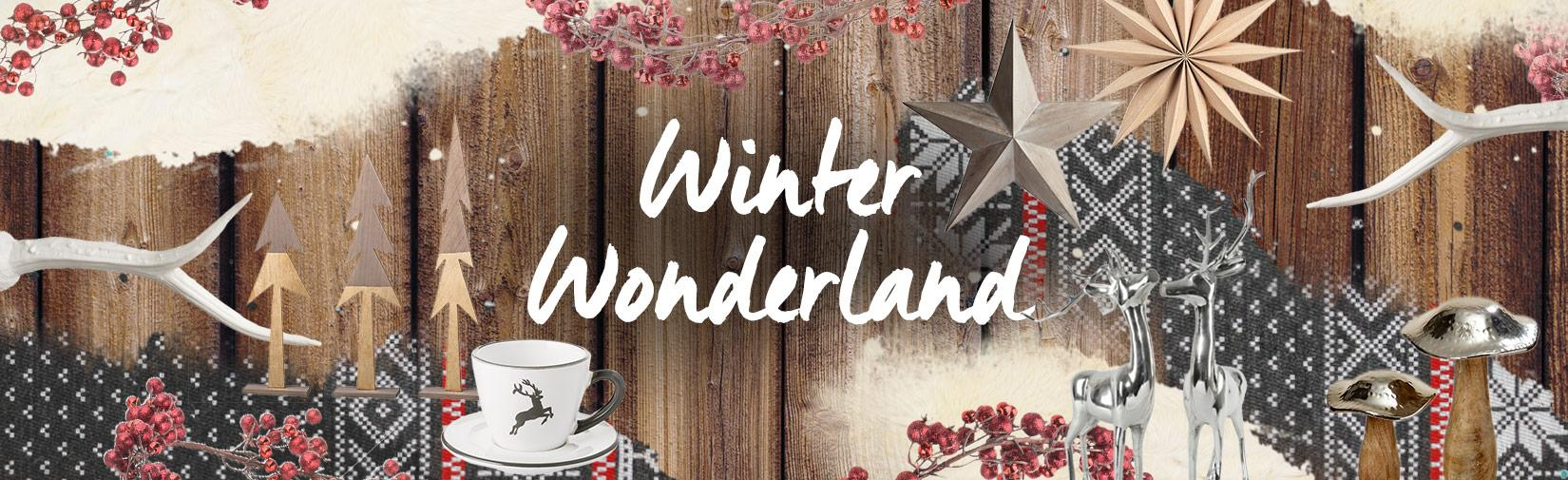 Landingpage winter wonderland