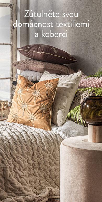 Textilie a koberce