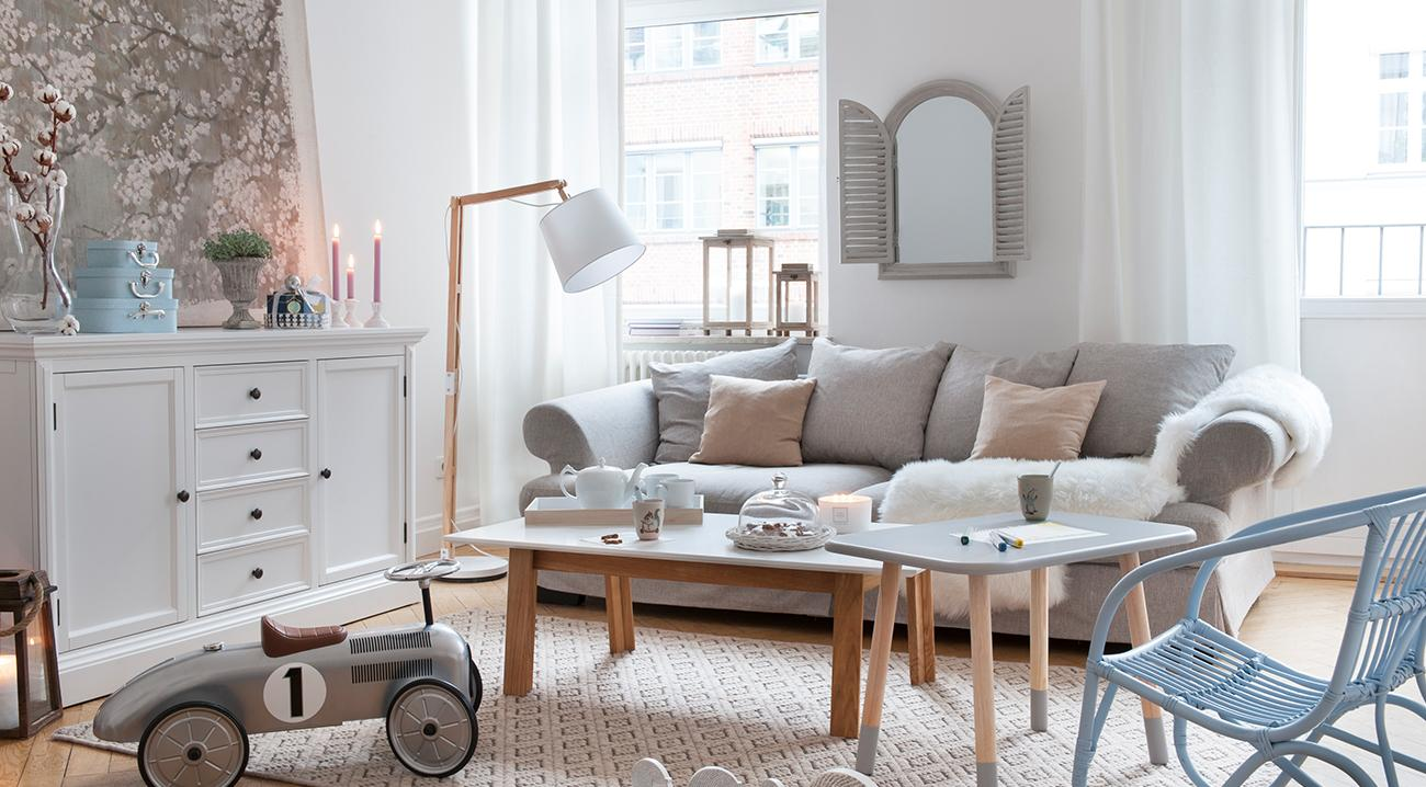 Möbel für das Wohnzimmer im klassischen Stil