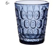 Vasos resistentes con relieve Optic, 6uds.