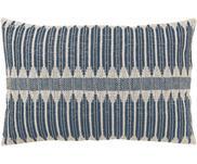 Handgemaakt kussen Aztec in boho stijl, met vulling