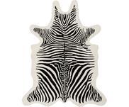 Handgetufteter Wollteppich Savanna Zebra