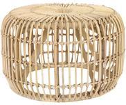 Kulatý ratanový odkládací stolek Kim
