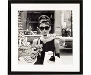 Impresión digital enmarcada Hepburn