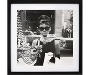 Gerahmter Digitaldruck Hepburn