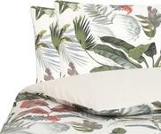Baumwollperkal-Bettwäsche Tropicana mit tropischem Print