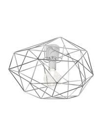 Deckenleuchte Diamond in Silber, Messing, verchromt, Chrom, Ø 50 x H 32 cm