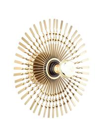 Applique murale design dorée Mendoza, Couleur laiton