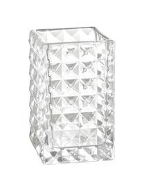 Zahnputzbecher Dots, Glas, Transparent, 7 x 11 cm