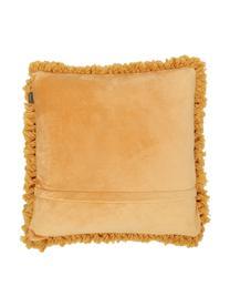 Cuscino giallo senape con imbottitura Oscar, Rivestimento: 95% cotone, 5% acrilico, Giallo ocra, Larg. 50 x Lung. 50 cm