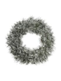 Wieniec dekoracyjny Carol, Stelaż: metal, Zielony, biały, Ø 63 x G 20 cm