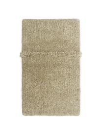 Tappeto in lana beige lavabile fatto a mano Tundra, Retro: cotone riciclato Nel caso, Beige, Larg. 80 x Lung. 140 cm (taglia XS)