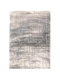 Tapis poils ras gris blanc Griff, Tons gris, blanc