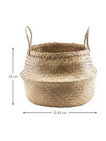 Kosz do przechowywania Tanger, Włókno naturalne, Beżowy, Ø 40 x W 30 cm