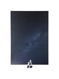 Puzzle Night, 500-tlg, Papier, Holz, Blau, 25 x 4 cm