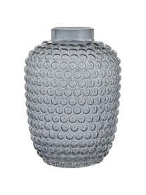 Mundgeblasene Glas-Vase Dorinia, Glas, Blau, transparent, Ø 20 x H 29 cm