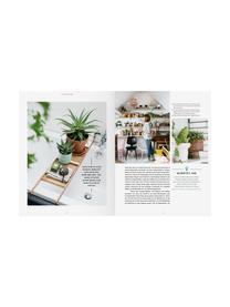 Bildband Wohnen in Grün, Papier, Hardcover, Mehrfarbig, 25 x 29 cm
