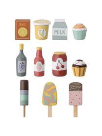 Spielzeug-Set Food, Lotusholz, Mitteldichte Holzfaserplatte (MDF), Mehrfarbig, 6 x 10 cm
