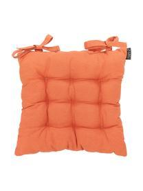 Poduszka na siedzisko Panama, Tapicerka: 50% bawełna, 45% polieste, Pomarańczowy, S 45 x D 45 cm