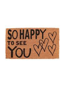 Zerbino So Happy, Retro: PVC, Marrone, nero, Larg. 40 x Lung. 70 cm