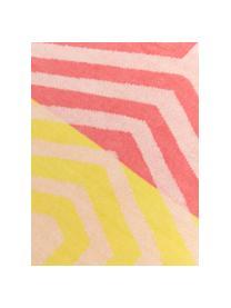 Ręcznik plażowy Cloudburst, Koralowy, żółty, S 100 x D 180 cm