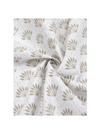 Dwustronna poszewka na poduszkę z bawełny organicznej Poliana, 2 szt., Beżowy, biały, S 40 x D 80 cm