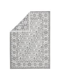 In- und Outdoor-Wendeteppich Curacao im Vintage Style, Grau/Creme, Grau, Cremefarben, B 200 x L 290 cm (Größe L)